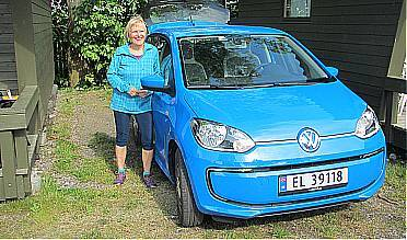 Jette och VW e-Up ! Ella