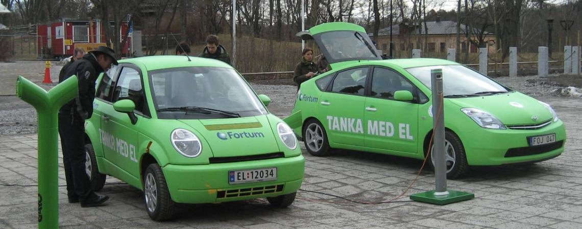 Fortums  Think och Prius